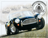 Shelby Cobra 50th Anniversary1962-2012 Placa de lata