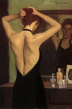 Ed Martinez The Black Dress Art Print Poster Poster
