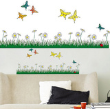 Butterflies Meadow 18 Wall Stickers Adesivo de parede