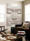 Smiling Buddha Mini Mural Huge Poster Art Print 壁紙ミューラル