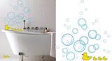 Bubble Ducks 24 Wall Stickers Adesivo de parede