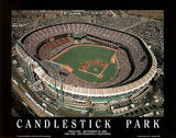 San Francisco Giants Candlestick Park Final Day Sept 30, c.1999 Sports Posters av Mike Smith