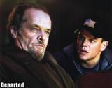 The Departed Jack Nicholson Matt Damon Movie Poster Print Masterprint