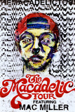 Mac Miller The Macadelic Tour Music Poster Print Poster