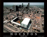 Houston Astros Minute Maid Park Sports Posters by Mike Smith