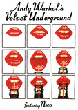 Andy Warhol's Velvet Underground Featuring Nico Music Poster Plakater