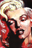Stephen Fishwick- Hot! - Marilyn Monroe Stampe di Stephen Fishwick
