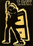 T. Rex Electric Warrior Music Poster Print Poster