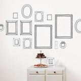 Valerie Michel Hand Made Frames Wall Stickers Adesivo de parede