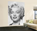 Marilyn Monroe Huge Wall Mural Movie Poster Print Mural de papel de parede