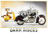 Alex Rinesch, Dark Riders, pôster da impressão artística  Pôsters