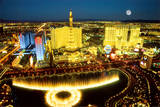 Las Vegas Aerial Photo Art Print Poster Pósters
