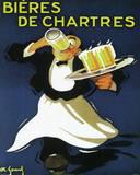 Bieres De Chartres Vintage Ad Art Print Poster Pôsters