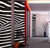 Zebra 3 Wall Stripes Stickers Vinilo decorativo