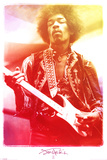 Jimi Hendrix Legendary Music Poster Print Photo
