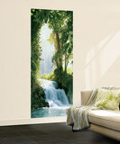 Zaragoza Falls Waterfall Giant Mural Poster Mural de papel de parede