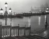 Venice (Grand Canal, B&W) Art Poster Print Print