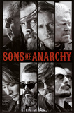 Sons of Anarchy Samcro TV Poster Print Billeder