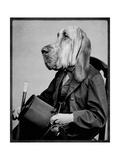Chief Inspector Houndsbury Giclée-Premiumdruck von  Grand Ole Bestiary