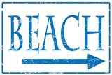 Schonberg-Strand Blechschild