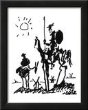 Dom Quixote, cerca de 1955 Pôsteres por Pablo Picasso