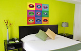 The Pop Art Mouths Autocollant mural