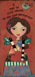 Guardian Angel V Poster von Jo Moulton