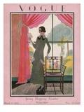 Vogue Cover - March 1923 Gicléedruk van Harriet Meserole
