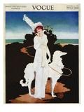 Vogue Cover - January 1913 Gicléedruk van Mrs. Newell Tilton