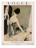 Vogue Cover - May 1923 Premium gicléedruk van Henry R. Sutter