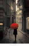 Red Rain Kunst von Stefano Corso