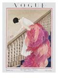 Vogue Cover - November 1924 プレミアムジクレープリント : ジョージ・ウルフ・プランク