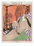 Vogue Cover - September 1922 Gicléedruk van Helen Dryden