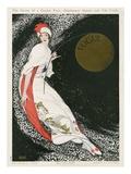 Vogue Cover - August 1912 - Moon Goddess Gicléedruk van George Wolfe Plank
