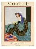 Vogue Cover - March 1923 Gicléedruk van Helen Dryden