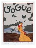 Vogue Cover - October 1924 Gicléedruk van Georges Lepape