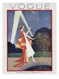 Vogue Cover - May 1926 Gicléedruk van George Wolfe Plank