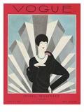 Vogue Cover - March 1927 Gicléedruk van Harriet Meserole
