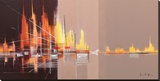 Jubileumlaan Reproducción de lámina sobre lienzo por Luc Drappier