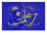 Violinist Affischer av  NaxArt