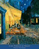 O Café Terrace na Praça do Fórum, Arles, à noite, cerca de 1888 Fotografia por Vincent van Gogh