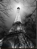 Sa Majesté La Tour Eiffel Opspændt lærredstryk af Antoine Carrara