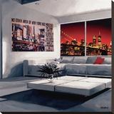 No Other Area Bedruckte aufgespannte Leinwand von Vincent Gachaga
