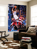 Oklahoma City, OK - June 12: Russell Westbrook and Mario Chalmers Poster géant par Andrew Bernstein