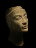 An Unfinished Bust of Nefertiti Fotografisk tryk af Kenneth Garrett