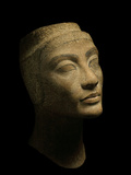 An Unfinished Bust of Nefertiti Photographic Print by Kenneth Garrett
