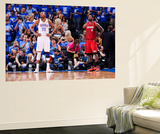 Oklahoma City, OK - June 12: LeBron James and Kevin Durant Prints by Andrew Bernstein