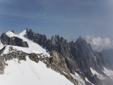 Mont Blanc, Courmayeur, Aosta Valley, Italian Alps, Italy, Europe Photographic Print by Angelo Cavalli