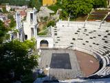 Roman Marble Amphitheatre Built in the 2nd Century, Plovidv, Bulgaria, Europe Photographic Print by Dallas & John Heaton