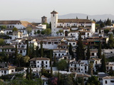 View of the Albaicin, Granada, Andalucia, Spain, Europe Photographic Print by  Godong